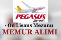 Pegasus Hava Yolları Ön Lisans Mezunu Memur Alıyor