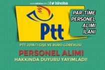 PTT 5 Bin Personel Alımı Kadrolarından Gişe ve Büro Personeli Alımı İçin Açıklama!