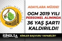 Adaylara Müjde! Tarım Bakanlığı OGM Perosnel Alımında 36 Yaş Şartı Kaldırıldı!