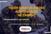 MSB Açıkladı: Yedek Subay ve Askeri Alım Tarihleri Belli Oldu