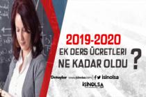 Öğretmenlerin 2019-2020 Ek Ders Ücretleri Ne Kadar Oldu?