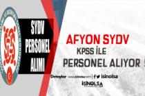 Afyon SYDV 60 KPSS ile 3 Sosyal İnceleme ve Yardım Görevlisi, 1 Büro Görevlisi Alacak