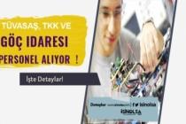TÜVASAŞ, TKK ve Göç İdaresi Sözleşmeli Mühendis ve Personel Alacak! Başvuru Şartları ve Detaylar
