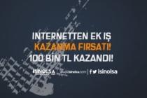 İnternetten Ek İş Kazanma Fırsatı.. 100 Bin Lira Kazandı..!