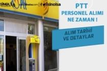 PTT Personel Alımı Taşeron Açıklaması ve Alım Tarihi
