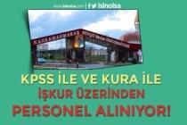 KSÜ Lise ve Ön Lisans Mezunu KPSS 60 Puan ve Kura İle Personel Alacak!