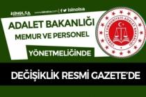 Adalet Bakanlığı Memur Sınav Atama ve Personel Unvan Değişikliği Yönetmeliği