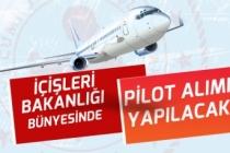 İçişleri Bakanlığı Bünyesinde KPSS Olmadan Pilot Alımı Yapılacak! Başvuru Şartları!