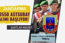 Jandarma 9 Alanda Sözleşmeli / Muvazzaf 3 Bin 550 Astsubay Alımı Başlıyor!
