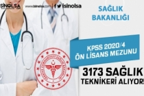 KPSS 2020/4 İle Ön Lisans Mezunu 3.173 Sağlık Teknikeri Alınıyor! Nitelik Kodları Nedir?