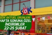 Şok Bu Hafta Sonuna Özel 22-23 Şubat Aktüel Ürün Fiyatları 25 Şubata Kadar!