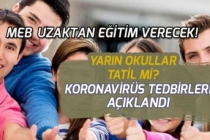 Koronavirüs Tedbirleri Açıklandı! Yarın 13 Mart Okullar Tatil mi?