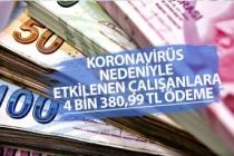 Koronavirüsten Etkilenen Çalışana 4.380 Tl İŞKUR Ödemesi! Başvuru Formu!
