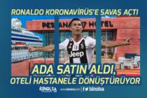 Ronaldo Koronavirüs İçin Ada Satın Aldı! Oteli Hastaneye Dönüştürdü!