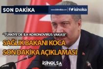 Sağlık Bakanı Koca Son Dakika Açıklaması! İlk Koronovirüs Vakası Görüldü