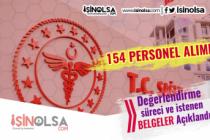 Sağlık Bakanlığı 154 Personel Alımı Değerlendirmesi ve İstenen Belgeler Açıklandı