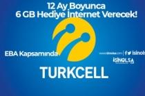 Turkcell 12 Ay Boyunca 6 GB Hediye İnternet Verecek! (EBA Kapsamında)