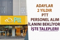 Adaylar 2 Yıldır PTT Personel Alım İlanını Bekliyor! İşte Talepleri!