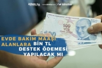 Evde Bakım Maaşı Alanlar Bin Tl Destek Ödemesi Alacakmı?