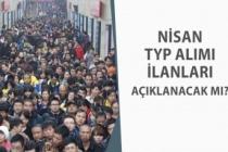 Kamu Kurumlarına 2020 Nisan İŞKUR TYP Alım İlanları