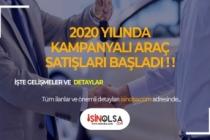 2020 Yüzde 0,49'dan Başlayan Faizlerle Otomobil Kampanyası!