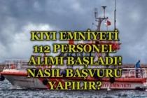 İŞKUR Üzerinden Kıyı Emniyeti 112 Kamu Personeli Alımı Başvuruları Nasıl Yapılır!