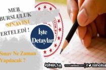 MEB Bursluluk Sınav Tarihi Açıklandı!