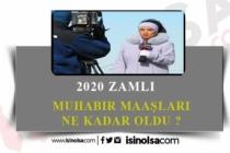 2020 Muhabir Maaşları Ne Kadardır? İstihdam Olanağı Nedir?