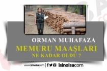 2020 Temmuz Zamlı Orman Muhafaza Memuru Maaş Bordrosu