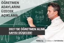 MEB'e Bağlı Okullara Öğretmen Alımı Sayısı Azalacak! İşte Açıklama!