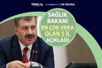 Sağlık Bakanı Koronavirüsün En Çok Görüldüğü 5 İli Açıkladı!
