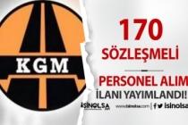Karayolları Genel Müdürlüğü 170 Sözleşmeli Personel Alım İlanı Yayımlandı