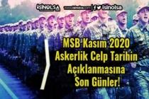 MSB Kasım 2020 Askerlik Celp Tarihin Açıklanmasına Son Günler!