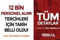 ÖSYM: Sağlık Bakanlığı 12 Bin Personel Alımı 1-7 Aralık Tarihlerinde Tercih Alacak!