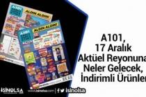 A101, 17 Aralık 2020 Aktüel Reyonuna Neler Gelecek, İndirimli Ürünler