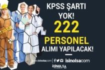 KPSS Şartı Yok! Turistik Tesise 17 Farklı Kadro İle 222 İşçi Personel Alımı