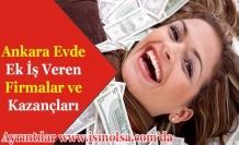 Ankara Evde Ek İş Veren Firmalar ve Kazançları
