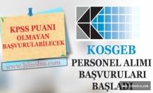 KOSGEB KPSS Puanı Olmayanlarında Başvurabileceği Sözleşmeli Bilişim Personeli Alımı Başladı