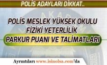 PMYO Fiziki Yeterlilik Parkur Puan ve Talimatları!