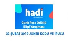 Hadi Digitürk 23 Şubat Joker Kodu ve İpucu Sorusu (Ailece Hadi, Romantik Film Gecesi, Digitürk ile Derbi)