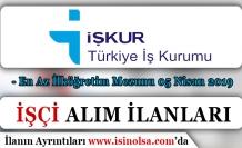 İŞKUR 05 Nisan İlanlarını Yayımladı! DSİ, MEB, EGM ve Sulama Birliği İşçi Alımı ( En Az İlköğretim )