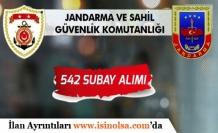 Jandarma ve Sahil Güvenlik Komutanlığı 542 Kadın/Erkek Subay Alımı Yapıyor! Online Başvuru