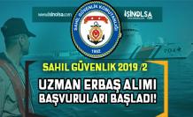 Sahil Güvenlik 2019 Yılı 2. Dönem Uzman Erbaş Alım İlanı! Başvurular Başladı