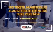 YKS'DE Tekstil Mühendisliği Yazana Asgari Ücret Kadar Burs Verilecek