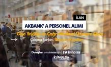 Akbank Gişe Yetkilisi ve Çağrı Merkezi Yetkilisi Alımı Şartları Belli Oldu