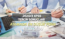 2020/3 KPSS Tercih Sonuçları ve Atamada En Düşük Puanlar Belli Oldu!