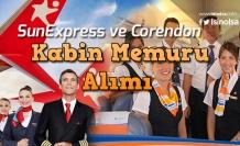 SunExpress ve Corendon 4500 Tl Maaş ile Kabin Memuru Alımı Yapacak!