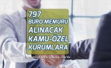 797 Büro Memuru Alımına Başvurularda Lise Mezunu Olmak Gerekli Olacak!