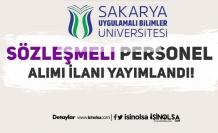 Sakarya Uygulamalı Bilimler Üniversitesi 4/B Personel Alımı Şartları Nedir?