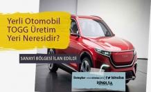 TOGG Yerli Otomobil Nerede Üretilecek? Belediye Meclisi Oylama Yaptı